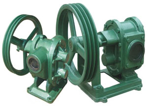 BP belt pulley gear pump