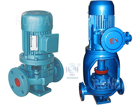 ISG ISGB vertical pipe centrifugal pump