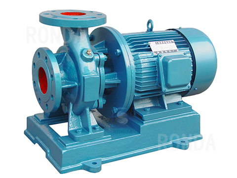 ISW ISWB  horizontal pipe centrifugal pump