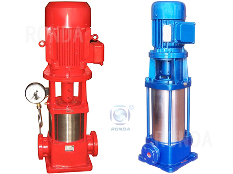 GDL vertical multi-stage pipeline pump