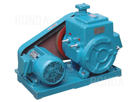 2X double-stage rotary vane vacuum pump